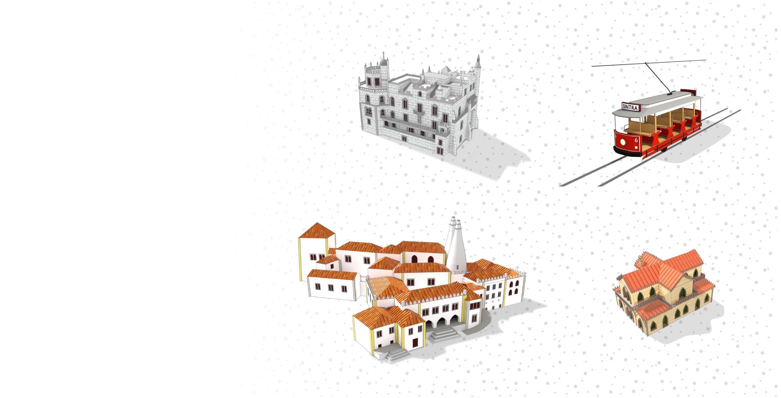 infografia 3D <br> no mesmo rigor <br> cartográfico