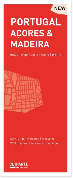 MAPA DE PORTUGAL <BR>AÇORES E MADEIRA