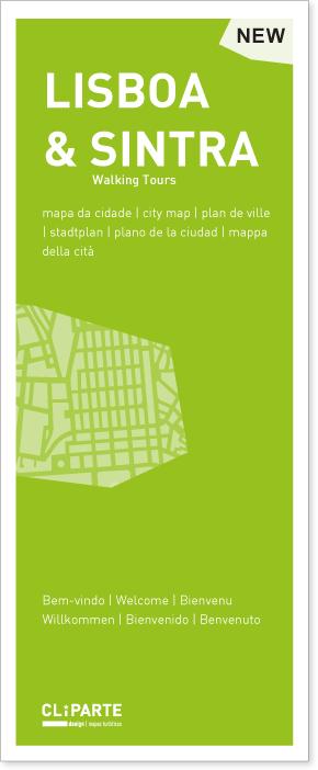 MAPA DE LISBOA <br> E SINTRA