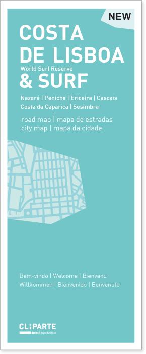 MAPA DA COSTA <br> DE LISBOA E SURF