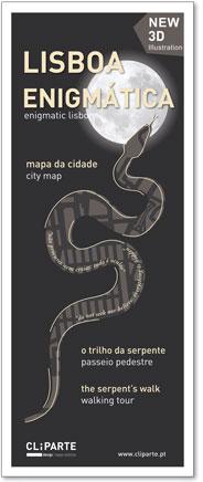 MAPA LISBOA ENIGMÁTICA <br> O Trilho da Serpente